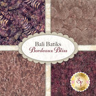 go to Bali Batiks - Bordeaux Bliss