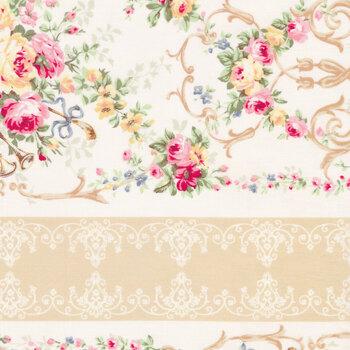 Rose Garden 2410-12A by Quilt Gate Fabrics