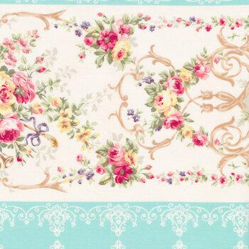 Rose Garden 2410-12C by Quilt Gate Fabrics