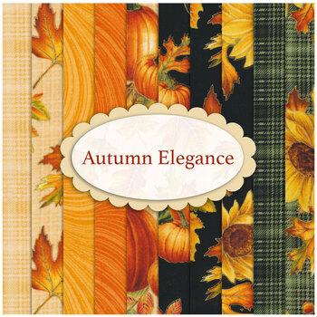 Autumn Elegance  10 FQ Set by Benartex