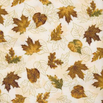 Autumn Bouquet 19859-15 Ivory by Robert Kaufman Fabrics