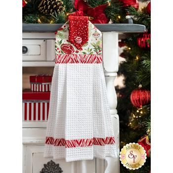 Hanging Towel Kit - Naughty or Nice - White