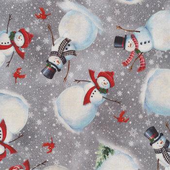 Winter Greetings 28338-K by Quilting Treasures Fabrics