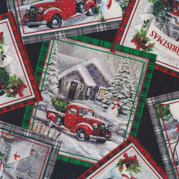 Winter Greetings 28337-J by Quilting Treasures Fabrics