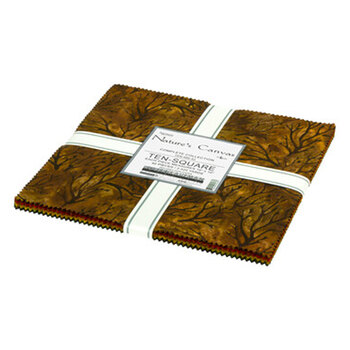"Nature's Canvas Artisan Batiks  10"" Squares by Robert Kaufman Fabrics"