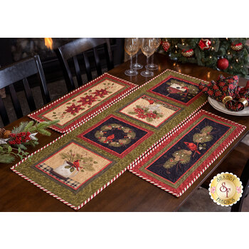 Winterberry Panel Table Runner Kit - Makes 3 Projects