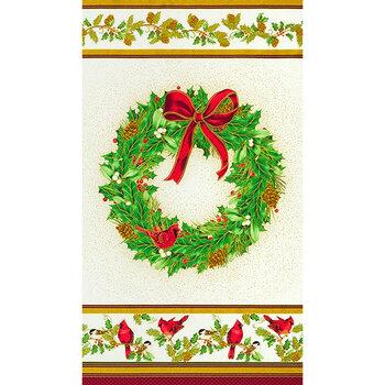 Winter's Grandeur 9 20076-223 Holiday Panel by Robert Kaufman Fabrics