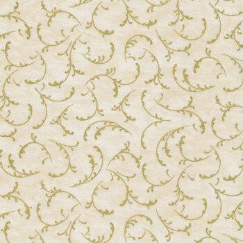 Winter's Grandeur 9 20078-15 Ivory by Robert Kaufman Fabrics