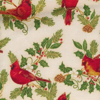 Winter's Grandeur 9 20079-223 Holiday by Robert Kaufman Fabrics