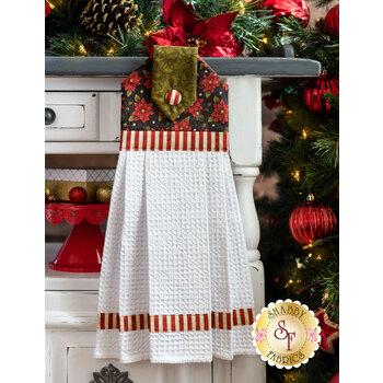 Hanging Towel Kit - Winterberry - Green