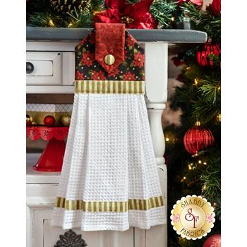 Hanging Towel Kit - Winterberry - Red