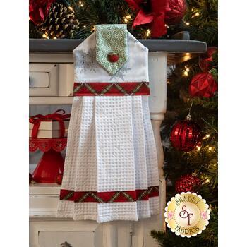 Hanging Towel Kit - Winter Wonderland - White
