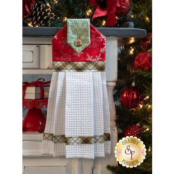 Hanging Towel Kit - Winter Wonderland - Red