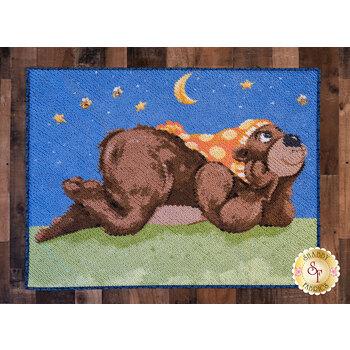 Chenille Rug Kit - Barron the Bear