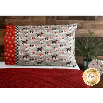 Magic Pillowcase Kit - Holiday Road Trip - Standard Size - Red