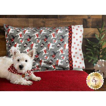 Magic Pillowcase Kit - Holiday Road Trip - Standard Size - Gray