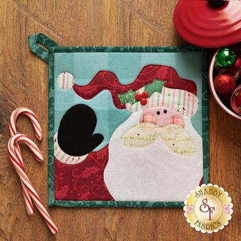 Better Not Pout Pot Holder Kit - Santa