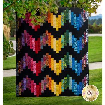 Ridiculously Easy Jelly Roll Quilt Kit - Aloha Batiks