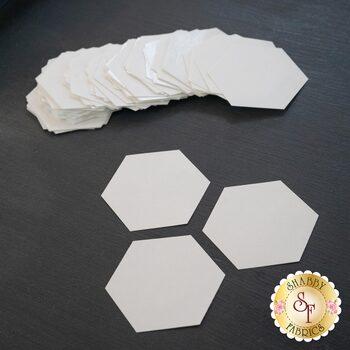 "Freezer Paper Hexies - 1 1/8"" - 72ct"