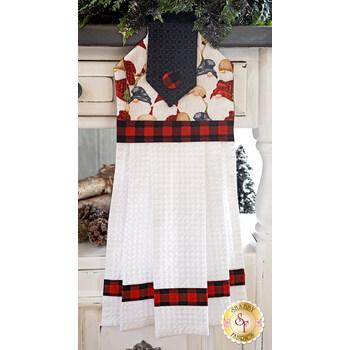 Hanging Towel Kit - Timber Gnomies - White