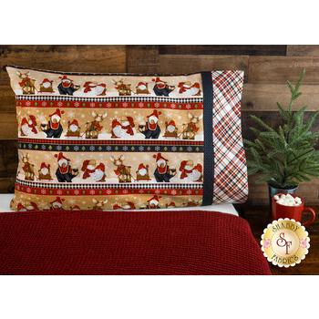 Magic Pillowcase Kit - Timber Gnomies - Standard Size - Tan