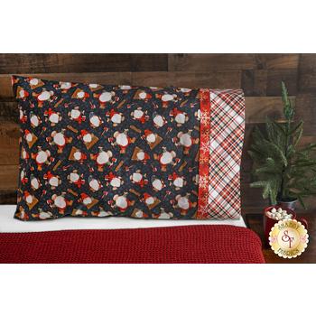 Magic Pillowcase Kit - Timber Gnomies - Standard Size - Grey
