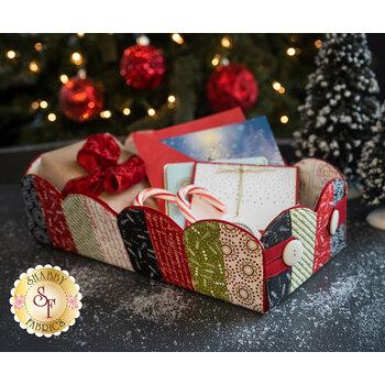 Scalloped Basket Kit - The Christmas Card