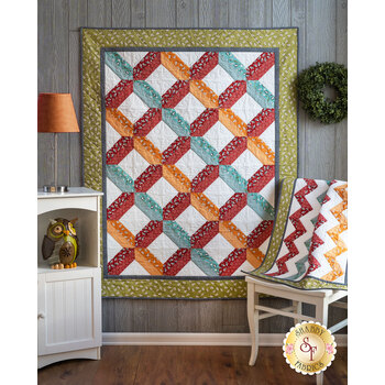 Home & Away Quilt Kit - Animal Crackers - Makes 2 Quilts!
