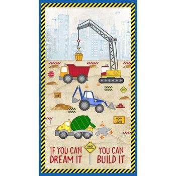 Building Dreams 82638-245 Large Panel Multi by Wilmington Prints