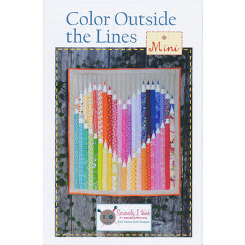 Color Outside The Lines Mini Pattern