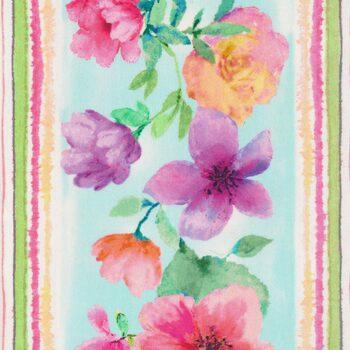 Spring Song FLEUR-CD8613-WHITE by Timeless Treasures