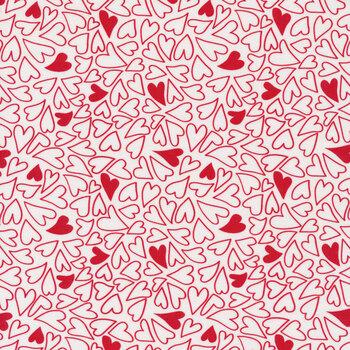 Holiday Essentials - Love 20750-11 Sugar Loves A Swirl by Stacy Iest Hsu for Moda Fabrics