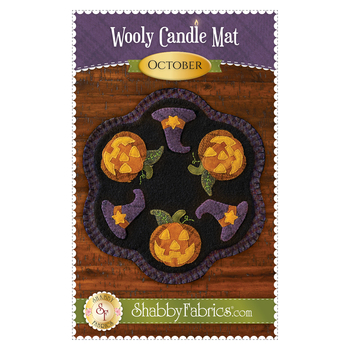 Wooly Candle Mat - October - Pattern