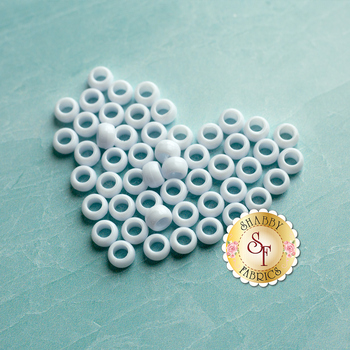 Face Mask Beads - White