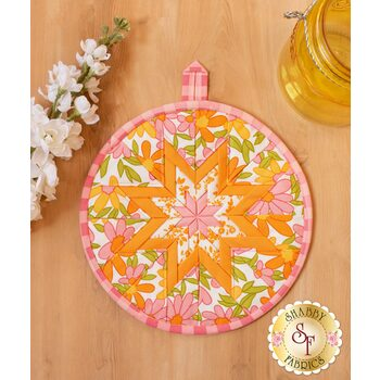 Folded Star Hot Pad Kit - A Blooming Bunch - Pink
