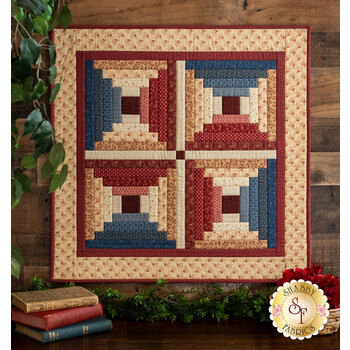 Courthouse Steps Wall Hanging Kit - Bess' Flower Garden