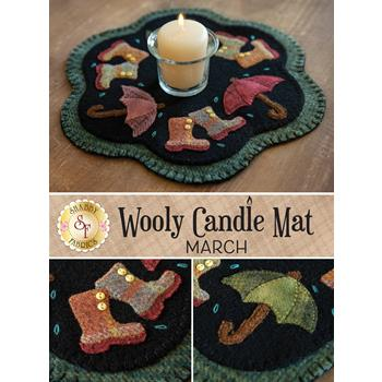 Wooly Candle Mat - March - Wool Kit