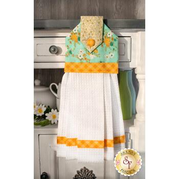 Hanging Towel Kit - A Blooming Bunch - Aqua
