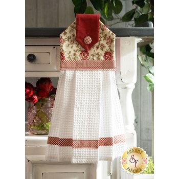 Hanging Towel Kit - La Rose Rouge - Cream
