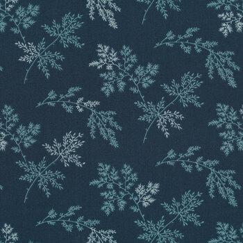 Bluebird 9454-B Blueberry Sprigs by Edyta Sitar for Andover Fabrics