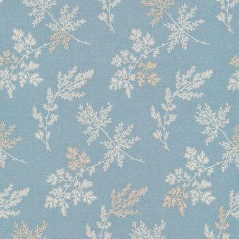 Bluebird 9454-LB Light Blue Sprigs by Edyta Sitar for Andover Fabrics