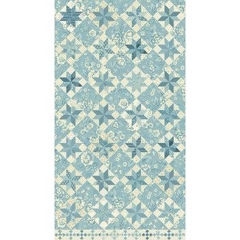 Bluebird 9848-B Lagoon North Star by Edyta Sitar for Andover Fabrics