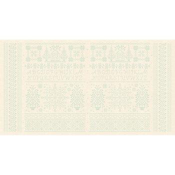 Bluebird 9850-B Linen Homestead Panel by Edyta Sitar for Andover Fabrics