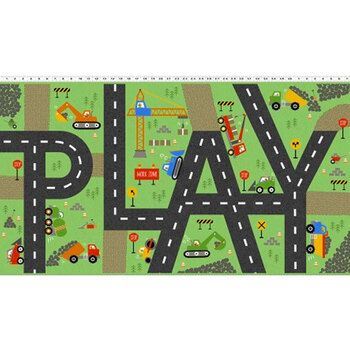Play Zone Y3271-24 Olive by Clothworks