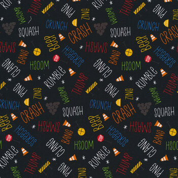 Play Zone Y3275-3 Black by Clothworks