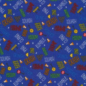 Play Zone Y3275-92 Dark Royal Blue by Clothworks