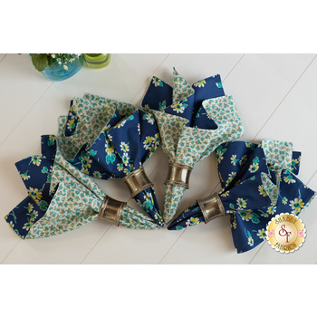 Cloth Napkins - Flour Garden - Set of 4 - SAMPLE PROJECT