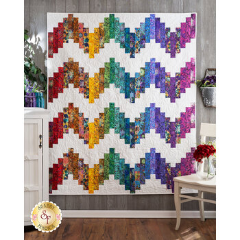 Ridiculously Easy Jelly Roll Quilt Kit - Venice