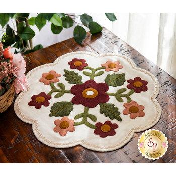In Full Bloom - Wool Mat Kit