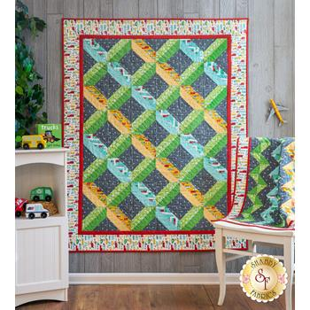 Home & Away Quilt Kit - On The Go - Makes 2 Quilts!